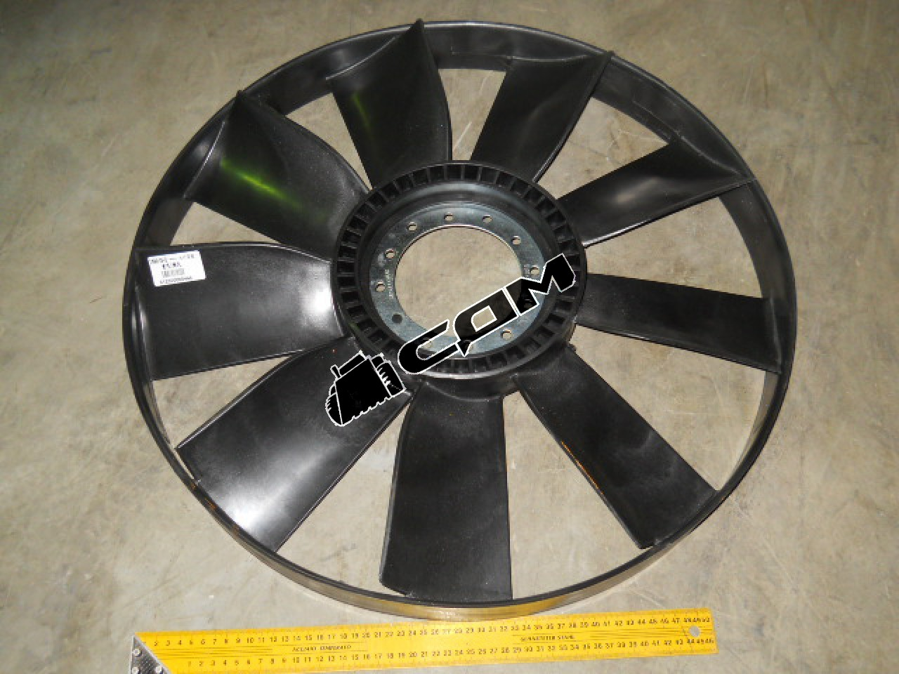 Вентилятор двигателя (крыльчатка) D=640 336 л.с., 371 л.с. HOWO/HOWO-70  VG2600060446